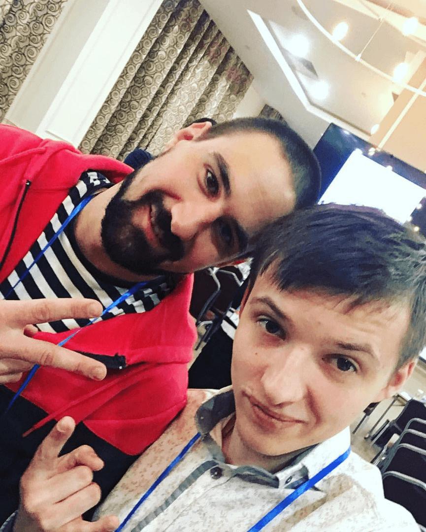 Михаил Белокоз с Алексеем Молчановым