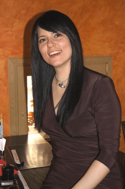 Натали Дарк на работе