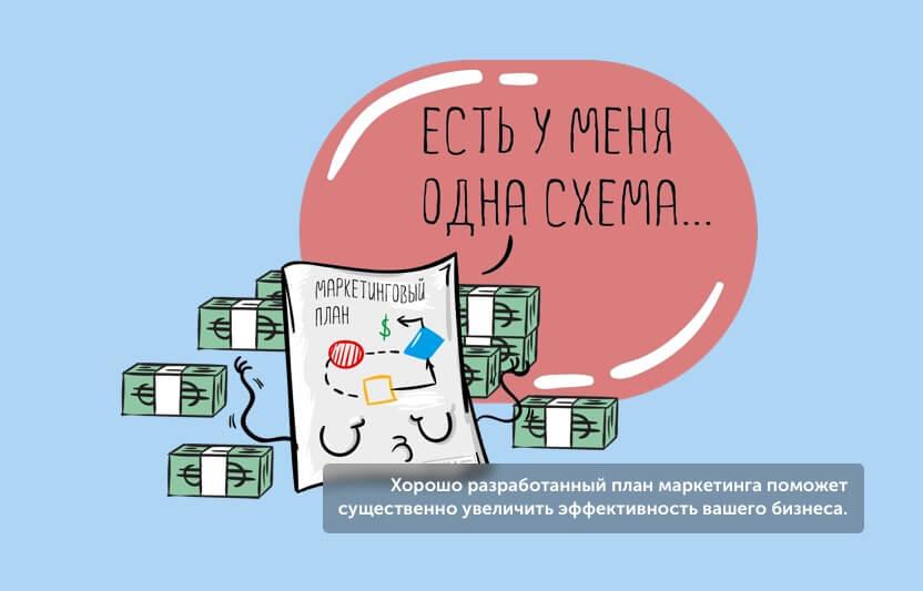 Хорошо разработанный план маркетинга поможет существенно увеличить эффективность вашего бизнеса