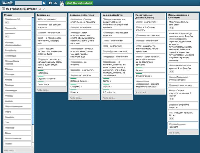 Trello - бесплатное веб-приложение для управления проектами небольших групп