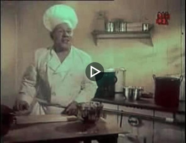 Первая телереклама СССР