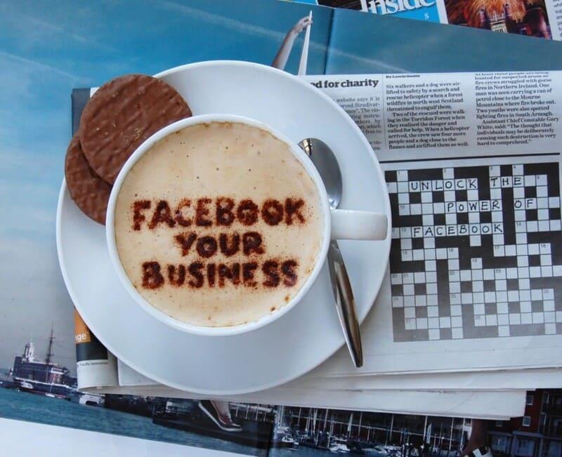 Бизнес-страница в Facebook