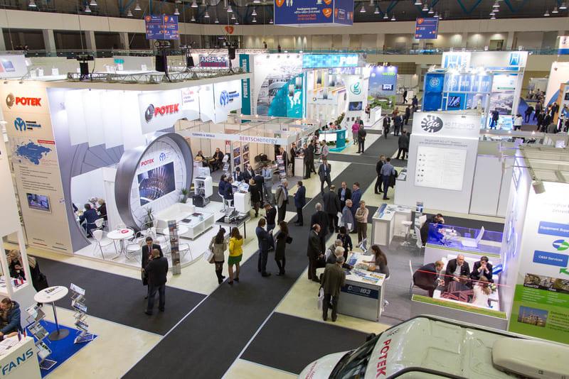 Посещение выставок, конференций для пополнения базы клиентов