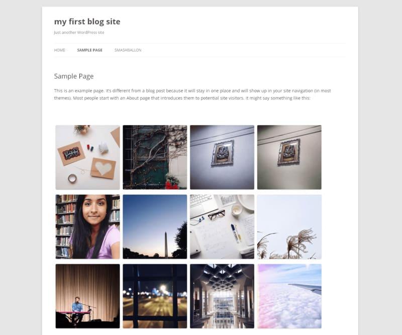 Как легко и быстро установить виджет Инстаграма для сайта на WordPress