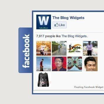 Где удобнее разместить виджет Facebook на сайте