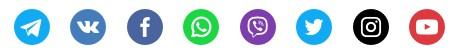 Подписка на канал Telegram и другие соцсети