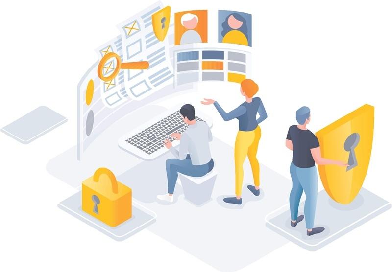 Места хранение персональных данных в организации