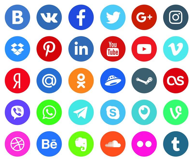 Роль кнопки соцсетей для сайта