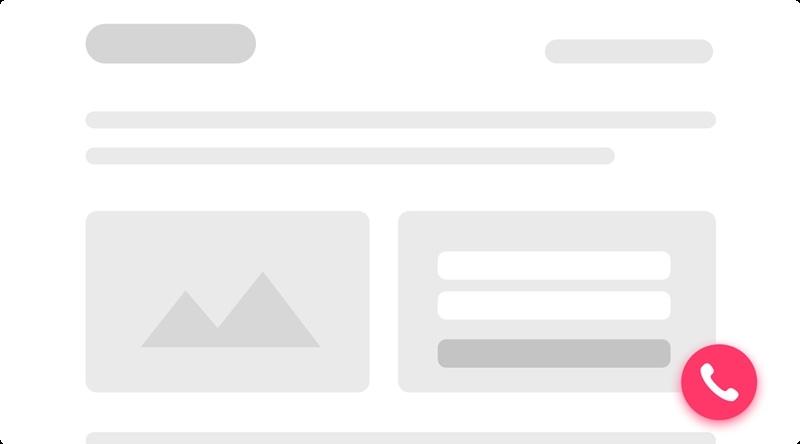 2 варианта как сделать обратный звонок на сайте