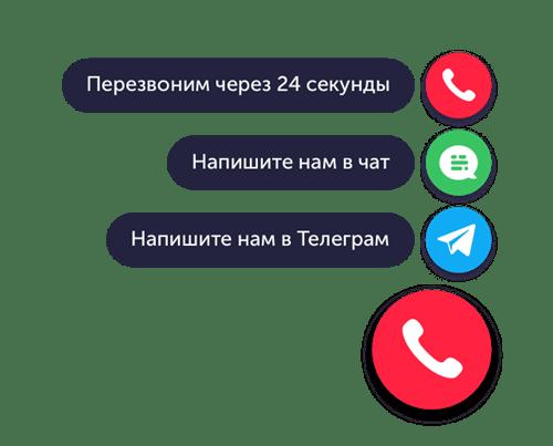 Кнопки обратной связи