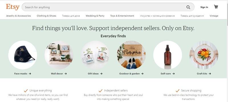 Etsy.com.