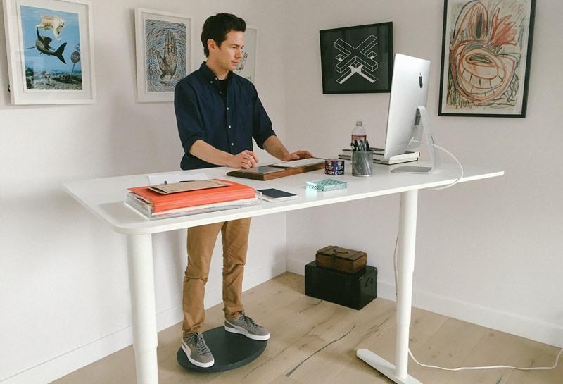 Оборудуйте стоячий стол