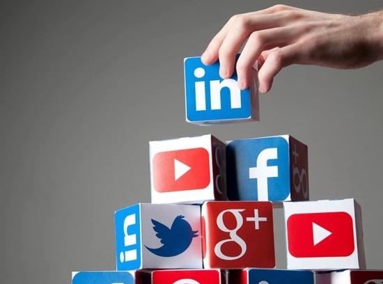 Популярные социальные сети.